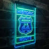 Missouri Historic Route US 66 Two Color LED Sign (Three Sizes)