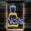 Nail Bottle Beauty Salon Two Color LED Sign (Three Sizes)