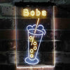 Boba Tea Two Colors LED Sign (Three Sizes)