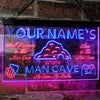 Personalized Man Cave Two Colors LED Home Bar Sign (Three Sizes) LED Signs - The Beer Lodge