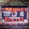 Personalized Neighborhood Pub Two Colors Home Bar LED Sign (Three Sizes) LED Signs - The Beer Lodge