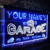 Personalized Garage Two Colors Home Bar LED Sign (Three Sizes) LED Signs - The Beer Lodge