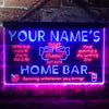 Personalized Beer Mug Cheers Two Colors Home Bar LED Sign (Three Sizes) LED Signs - The Beer Lodge
