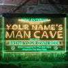 Personalized Man Cave Baseball Two Colors Home Bar LED Sign (Three Sizes) LED Signs - The Beer Lodge
