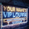 Personalized VIP Lounge Two Colors LED Sign (Three Sizes) LED Signs - The Beer Lodge