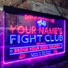 Personalized Fight Club Two Colors LED Sign (Three Sizes) LED Signs - The Beer Lodge