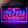 Personalized Sexy Bar Two Colors LED Sign (Three Sizes) LED Signs - The Beer Lodge