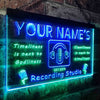 Personalized Recording Studio Two Colors LED Sign (Three Sizes) LED Signs - The Beer Lodge