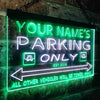 Personalized Parking Only Two Colors LED Sign (Three Sizes) LED Signs - The Beer Lodge