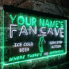 Personalized Fan Cave - Golf Two Colors LED Sign (Three Sizes)