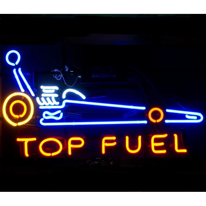 Top Fuel Neon Home Bar Sign