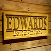 Personalized Edwards Wooden Home Bar Sign