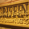 Personalized Griffin Wooden Home Bar Sign
