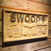 Personalized Beer Mugs Wooden Home Bar Sign