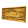 Personalized Home Theater Wooden Home Bar Sign