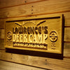 Personalized Deer Camp Wooden Home Bar Sign