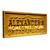 Personalized Home Sweet Home Wooden Home Bar Sign