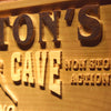 Personalized Fan Cave - Hockey Wooden Home Bar Sign