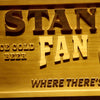 Personalized Fan Cave - Golf Wooden Home Bar Sign