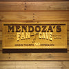 Personalized Fan Cave - Soccer Wooden Home Bar Sign