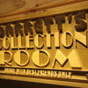 Personalized Collection Room Wooden Home Bar Sign