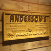 Personalized Computer Repair Wooden Home Bar Sign