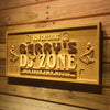 Personalized DJ Zone Wooden Home Bar Sign