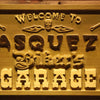 Personalized Biker's Garage Wooden Home Bar Sign