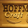 Personalized Hoffman's Bar Craft Beer Wooden Home Bar Sign