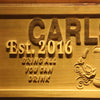 Personalized Carlson's Home Bar Wooden Home Bar Sign