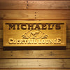 Personalized Cocktail Lounge Wooden Home Bar Sign