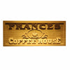 Personalized Coffee House Wooden Home Bar Sign