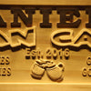 Personalized Daniel's Man Cave Wooden Home Bar Sign