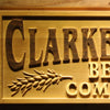 Personalized Beer Company Wooden Home Bar Sign