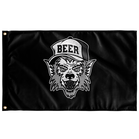 Werewolf Beer Hat Flag Flags - The Beer Lodge