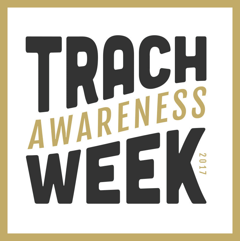 Trach Awareness Week 2017 Badge / Logo