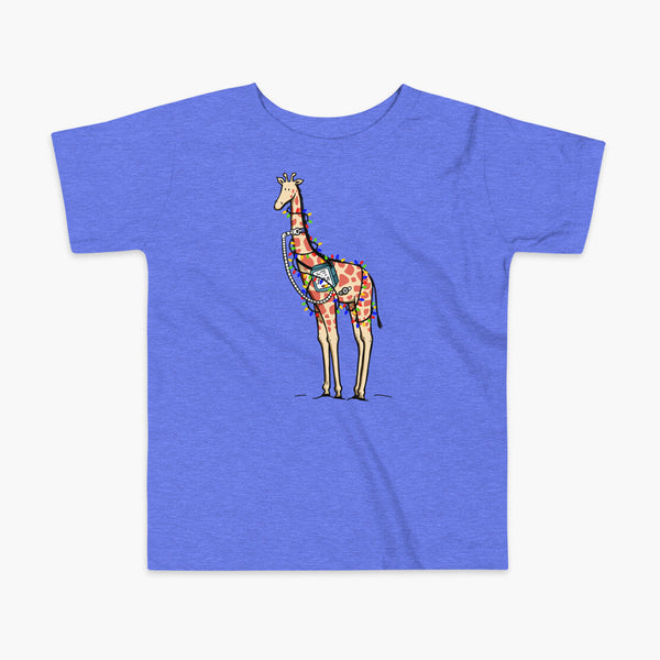 Christmas Giraffe - Kids (2yrs-5yrs) T-Shirt