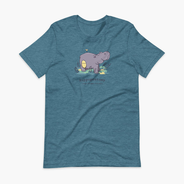Hippopostomy - Adult T-Shirt