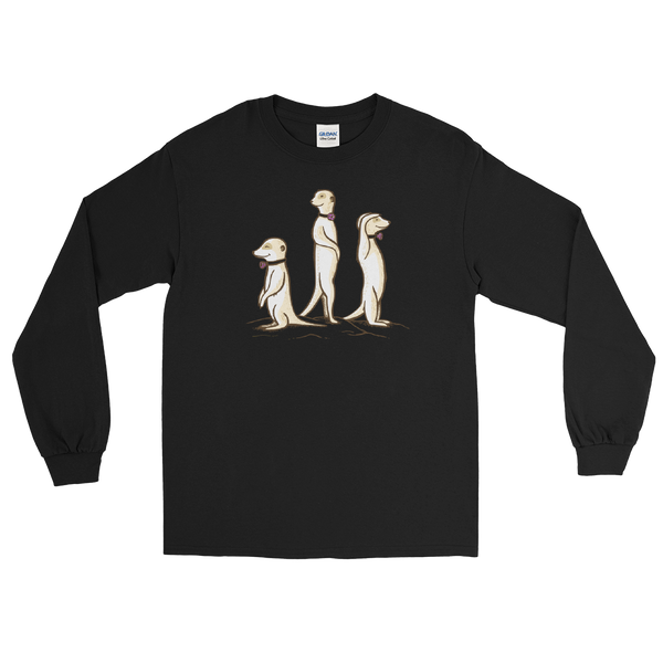 z Centennial State - Passy Meerkats - #webeLUNGtogether Adult Longsleeve T-Shirt