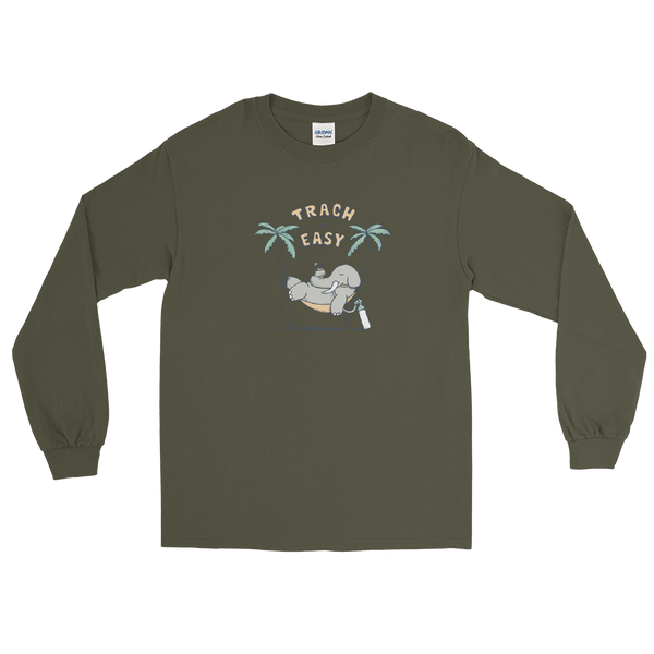 z Centennial State - Trach It Easy - #webeLUNGtogether Adult Longsleeve T-Shirt