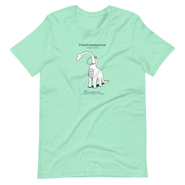 z  Lurie Children's - Trachieosaurus - Adult T-Shirt