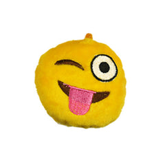 Emoji Plush Zipper Pulls