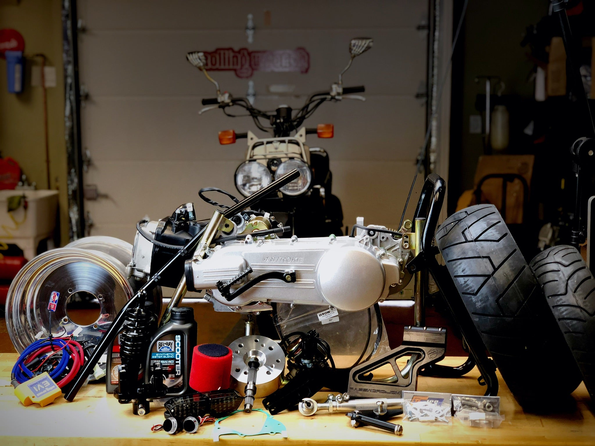 Honda Ruckus GY6 Swap Kit [LOW/WIDE/STRETCH LOOK]