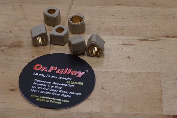 Dr. Pulley variator slider weights 16x13