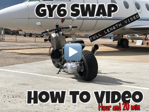 How to build a GY6 Honda Ruckus [LOW/WIDE STRETCH LOOK]  FULL VIDEO