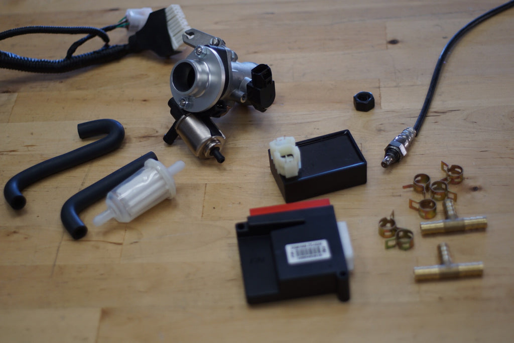 GY6 Fuel injection conversion kit 100cc-250cc – Rolling Wrench