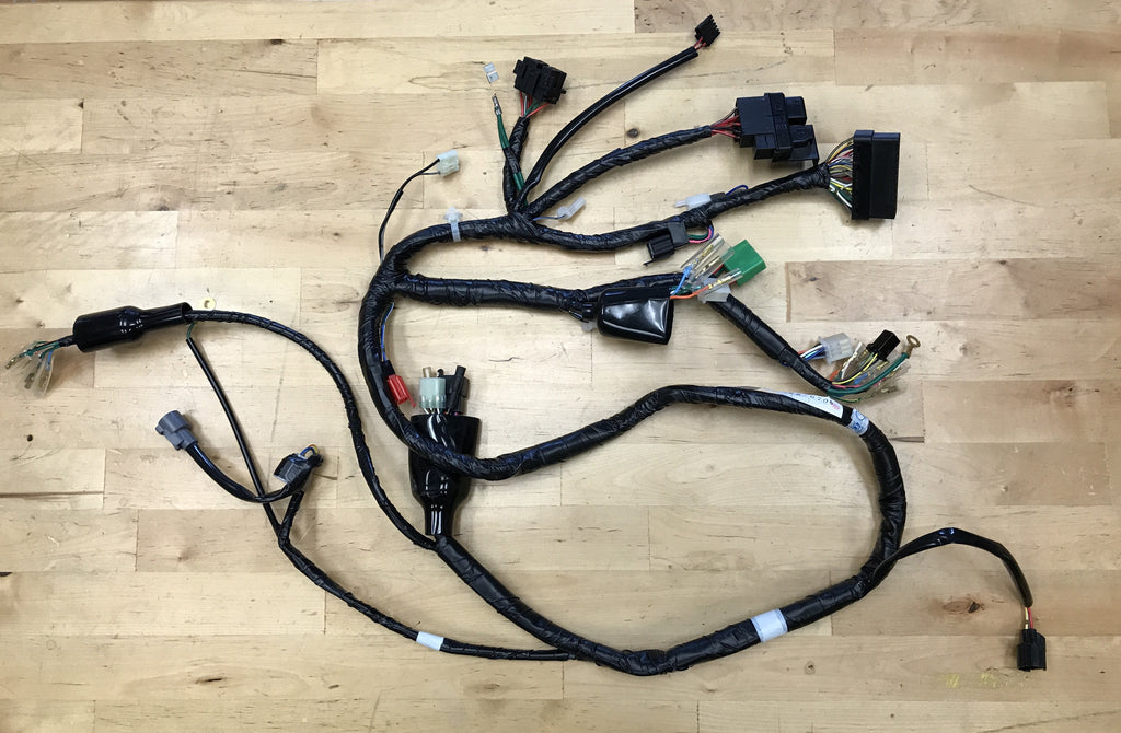 oem factory honda ruckus wiring harness \u2013 rolling wrench Electrical Wiring Connector Electrical Wiring Harness #2