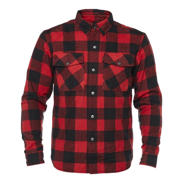Riding flannel jacket - KEVLAR