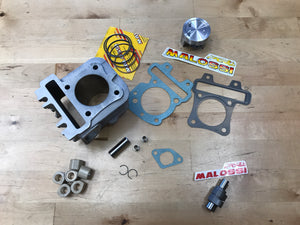 Piaggio 4T stage 3 performance kit. FITS: lx50S and SR50