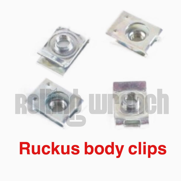 Honda Ruckus Body Battery box clips set